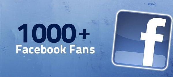 Get Guaranteed 1000 Real Human Facebook Fans Likes To
