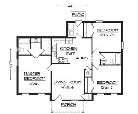 Create you a professional floor plan room layout office for Office space floor plan creator