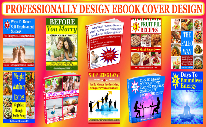 professionally design ebook cover or kindle cover
