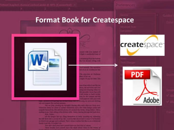 Format book for createspace by pinkszzz for Createspace formatted template