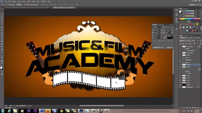 Designing a logo in photoshop cs6 m4a4 для кс 1 6 из кс го