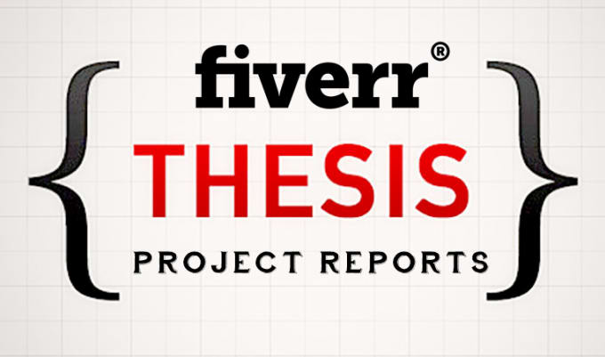 Project report or thesis