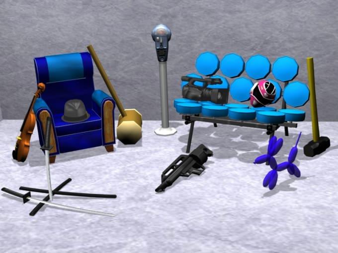 Create A Simple 3d Model By Metalgearsortof