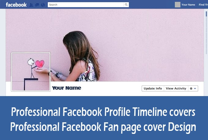 Design creative facebook cover pages by megalink for Design ideas facebook