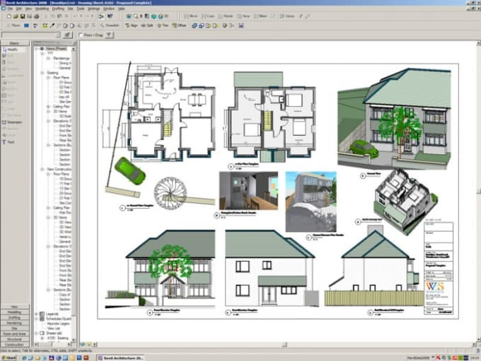 Teach you how to use revit architecture software by for Architecture 2d