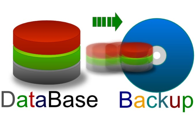Restore postgres database from files