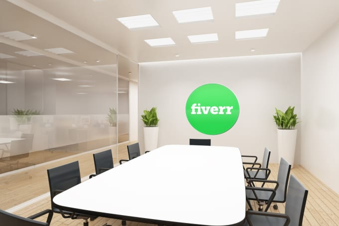 Put Your Logo Or Image In 5 Office Interior Mock Ups