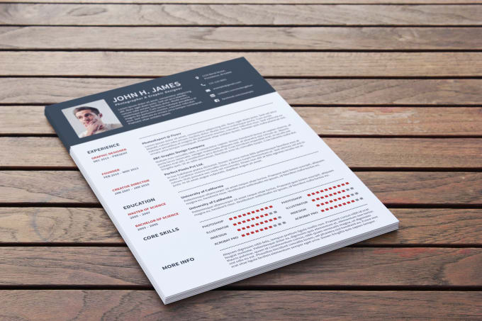 rewrite design and edit your resume cv cover letter