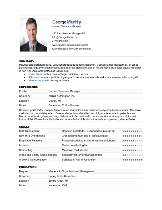 project ideas fiverr resume 11 design resume cv curriculum vitae