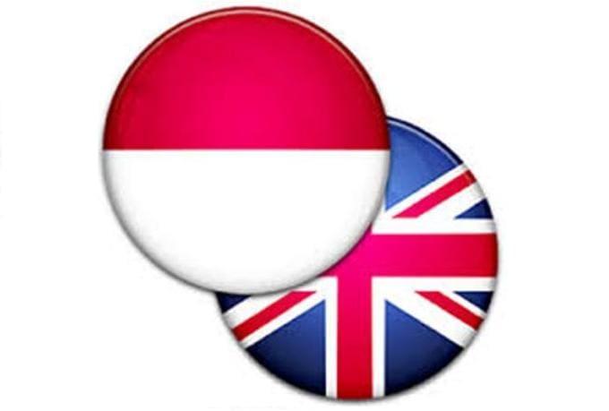 englih in indonesia