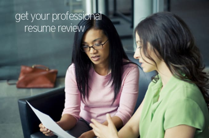 review your resume and provide detailed feedback by