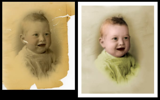 convert old black and white photos into color within 8 hours - Turn Black And White Photo Into Color