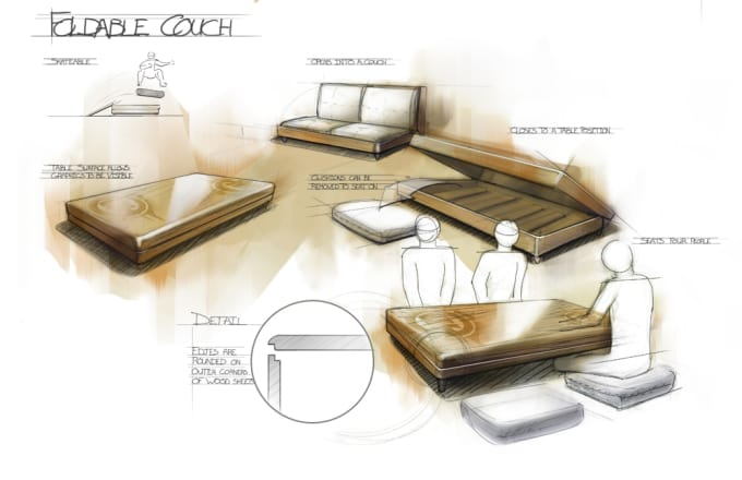 Furniture Design Sketches furniture design sketches - magiel