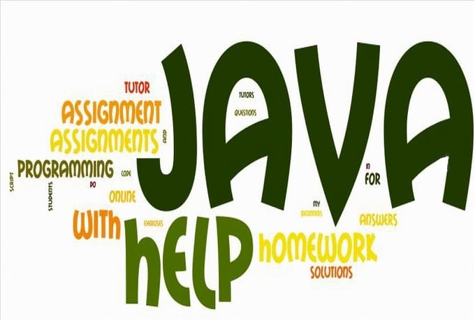 do your programming homework  assignments in JAVA Fiverr