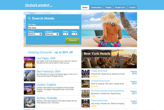 Create complete autopilot travel affiliate website by ...