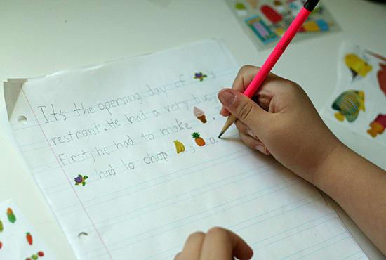 creative writing inspiration ks2