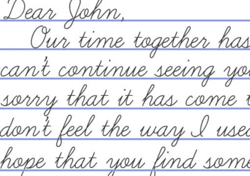 what is a dear john letter write your dear letter for you by kaylorin 10699 | dear john