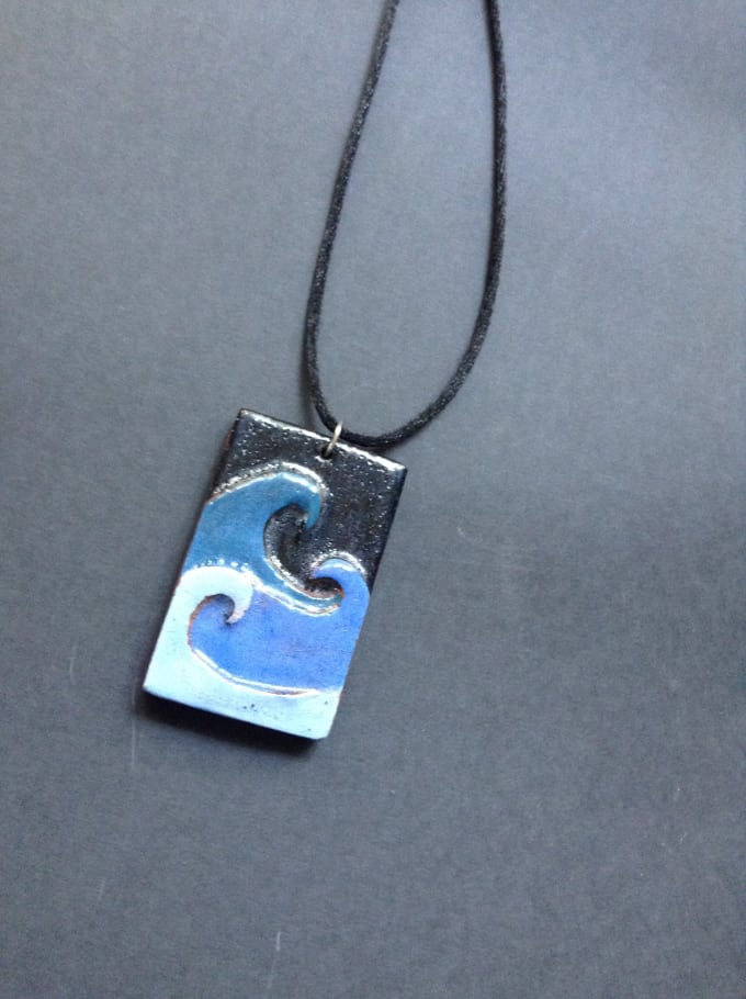 Make ocean themed ceramic pendants by annakcuffe make ocean themed ceramic pendants mozeypictures Gallery