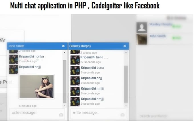 Create multi chat application like facebook in php by algobasket create multi chat application like facebook in php ccuart Gallery