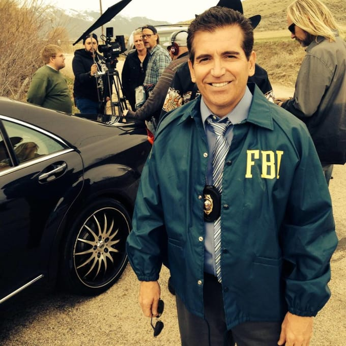 Real life fbi agent in your advertisement by Markviau Real Fbi Agent