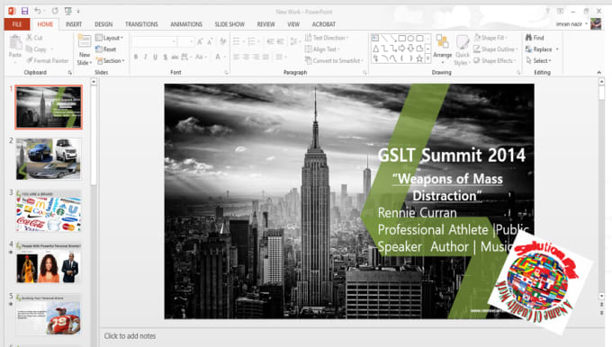 how to create a professional powerpoint presentation