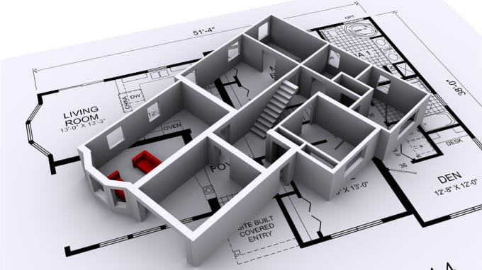 Architecture Blueprints 3d