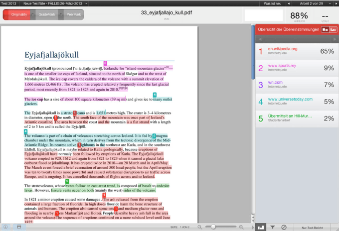 check your essay for plagiarism turnitin