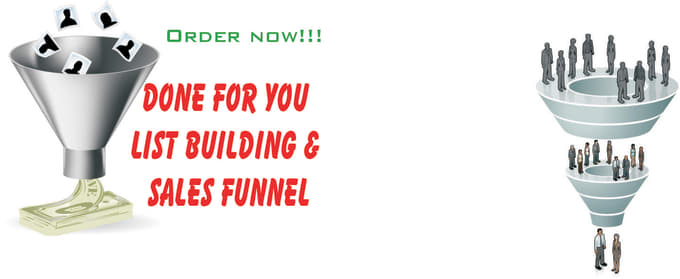 for you list building and sales funnel