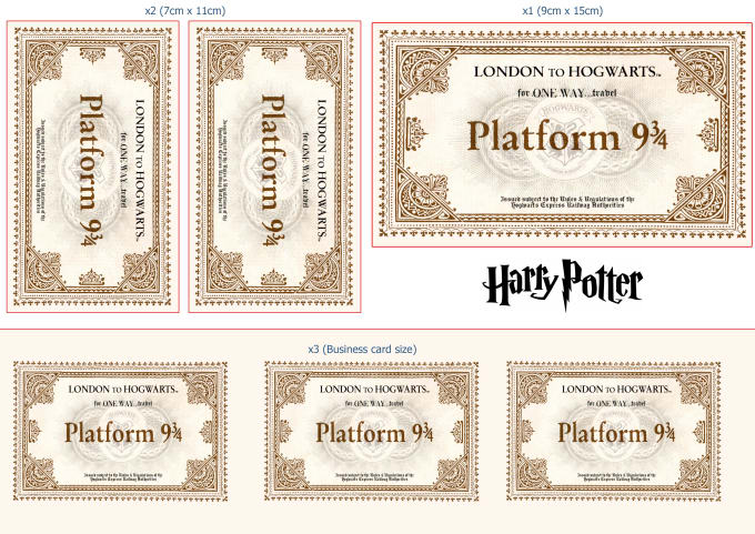 photograph about Hogwarts Express Ticket Printable identified as Harry Potter Sequence 1 Collectible Blind Bag Principal Chains