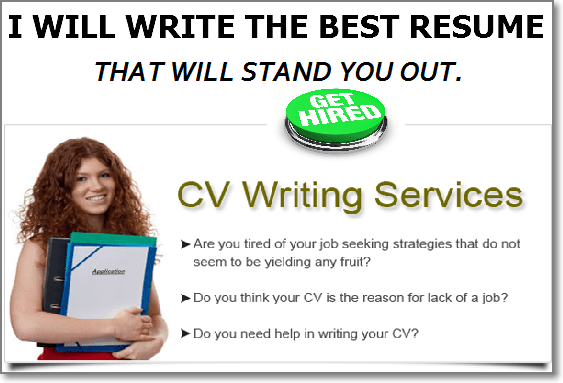 write the best resume and cover letter to get you hired by