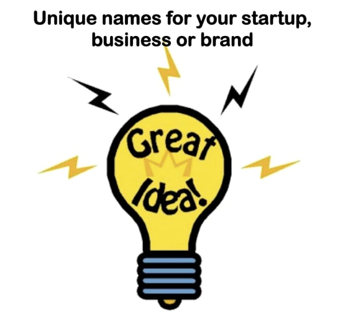 5 catchy business name ideas, brand name for a star