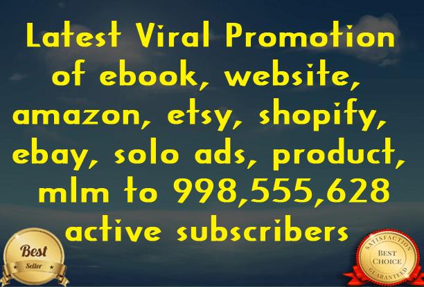 Promote your Website or link | Fiverr