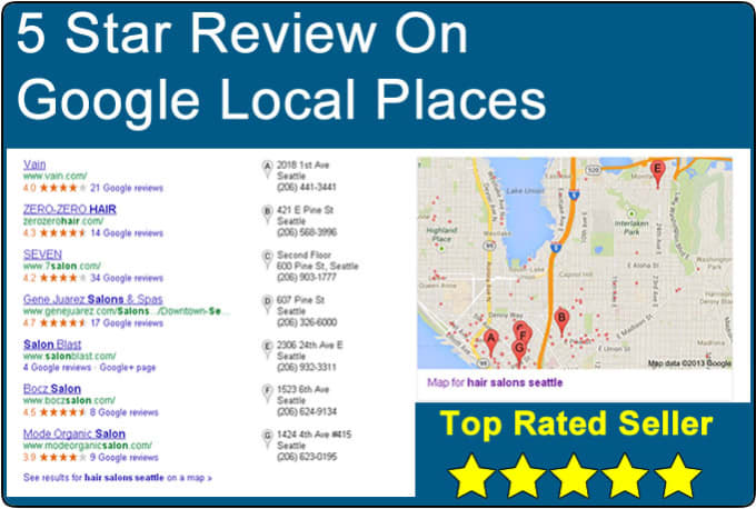 how to write a google review as a google user
