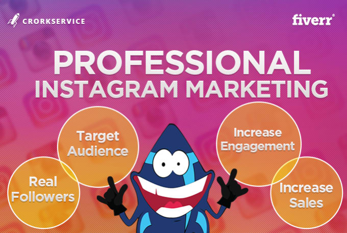 professionally marketing and manage your instagram