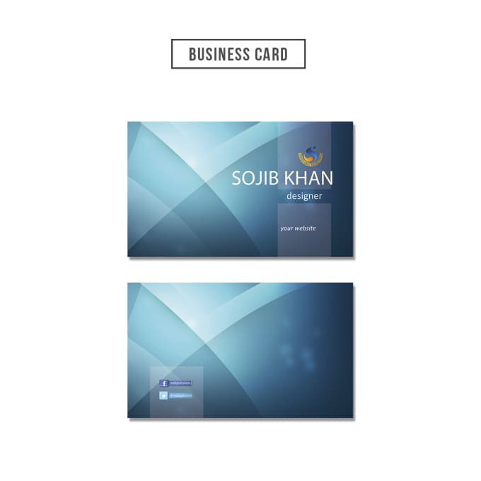 design a nice business card for you