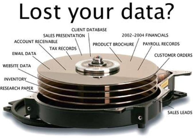 Data recovery business for sale