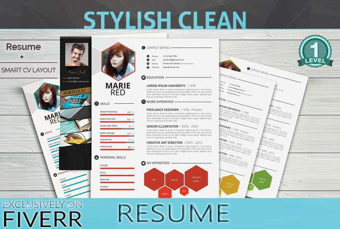 design or edit your cv resume or linkedin profile