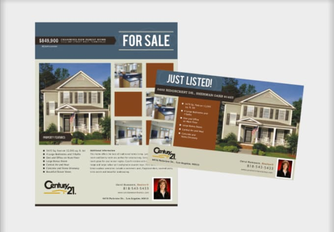 Design A Real Estate Open House Flyer  Fiverr