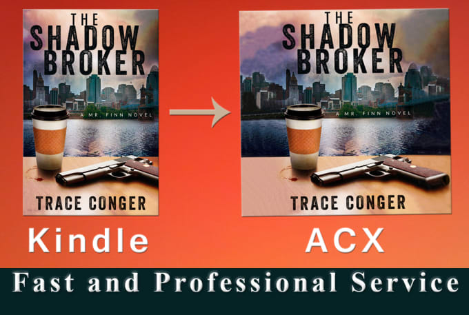 Kindle Book Cover Design Service : Convert kindle to audiobook cover for acx by naleen