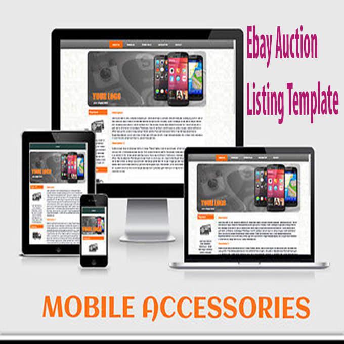 Fancy Ebay Listing Template Generator Ideas Certificate Resume - Ebay html template generator