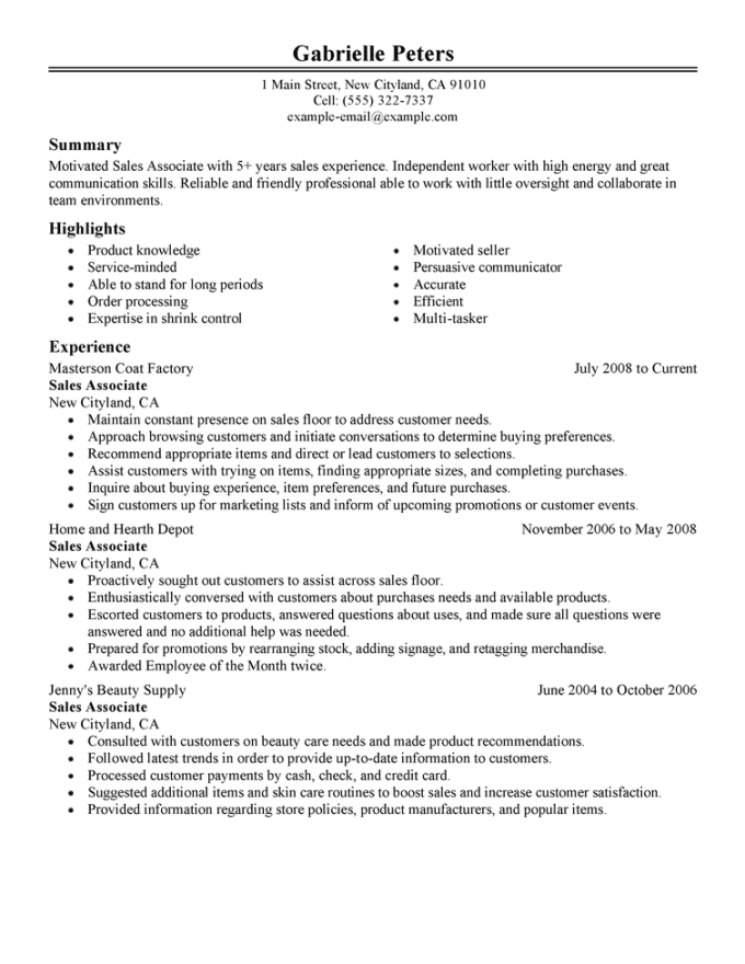 for the same company twice on resume