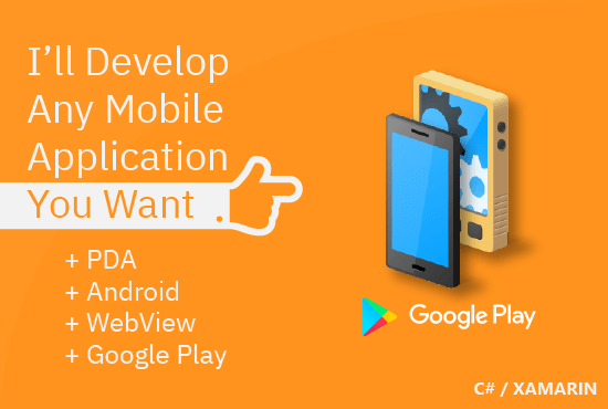 I will develop any mobile application you want