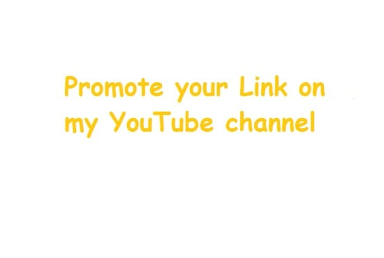 how to add links on your youtube channel