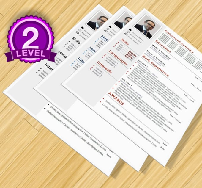 write or design cv resume cover letter