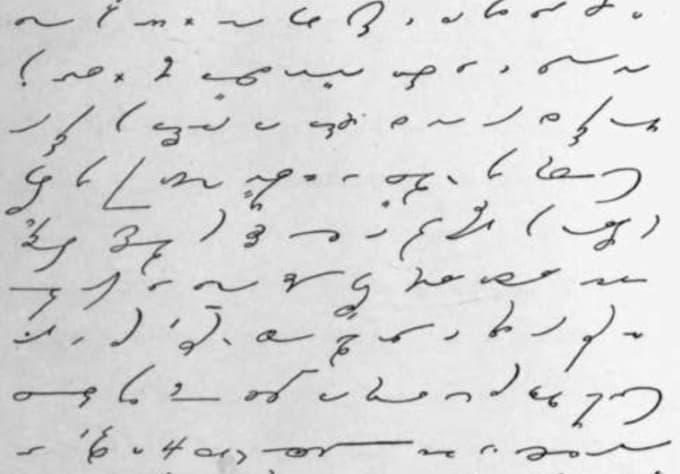 writing shorthand