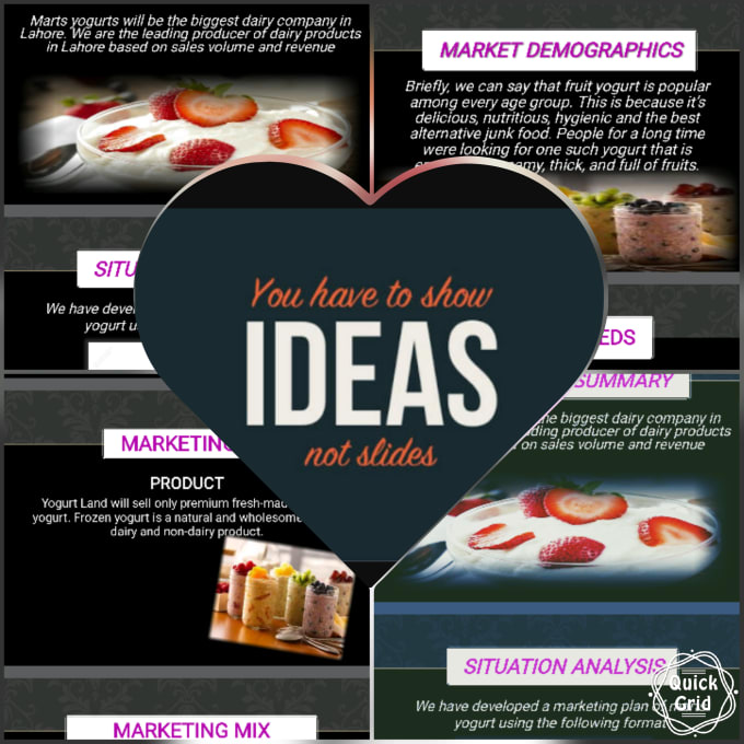 dairy product marketing mix