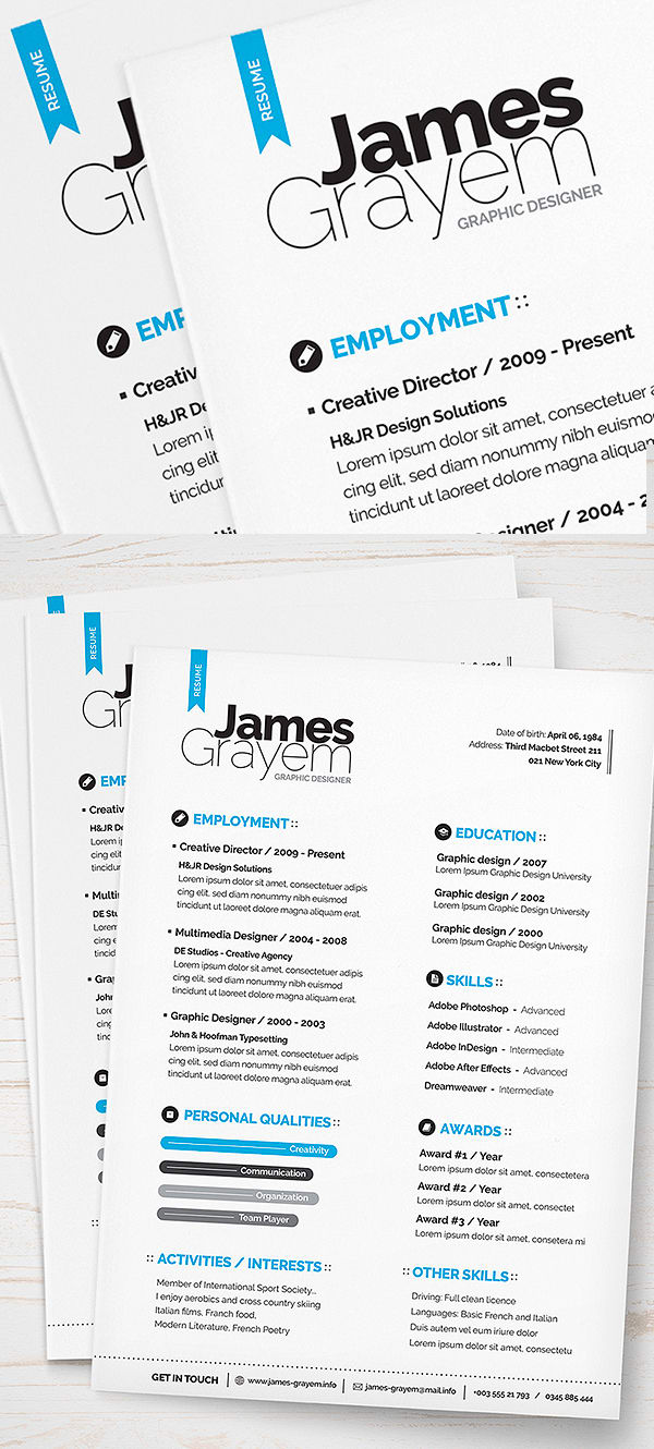 Design your own resume