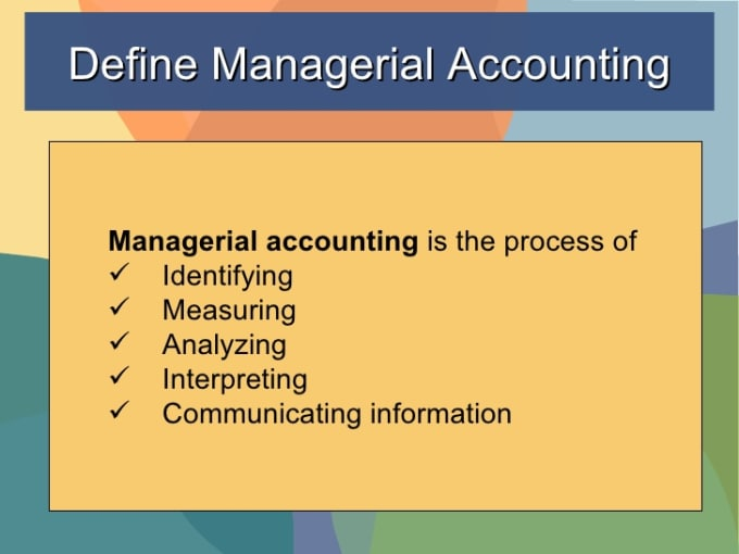 managerial accounting 4 essay