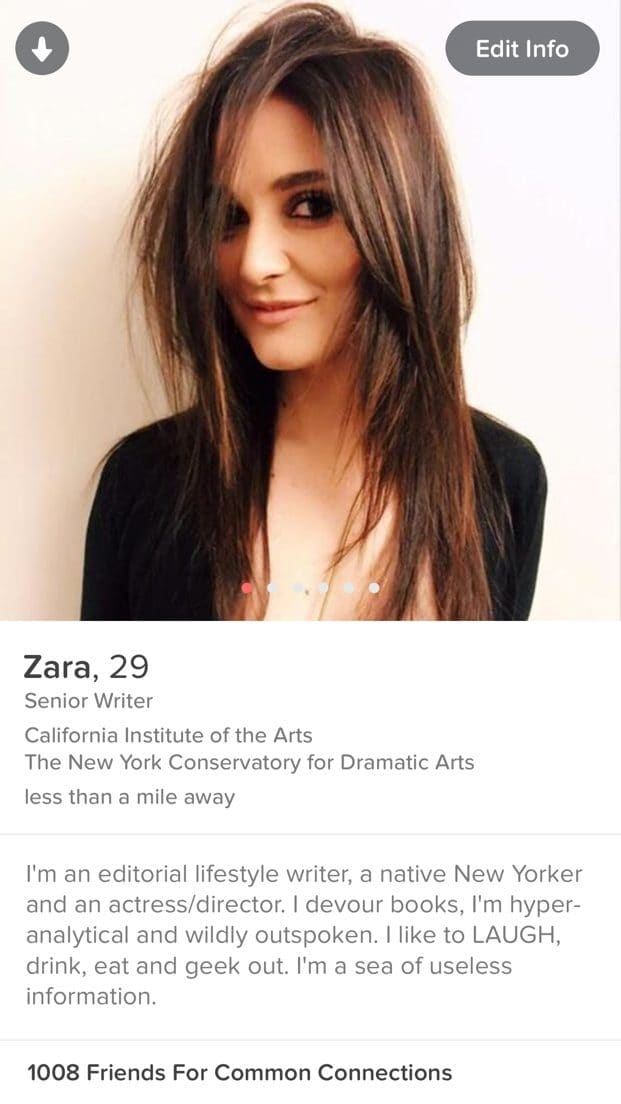 Headline profile dating sites