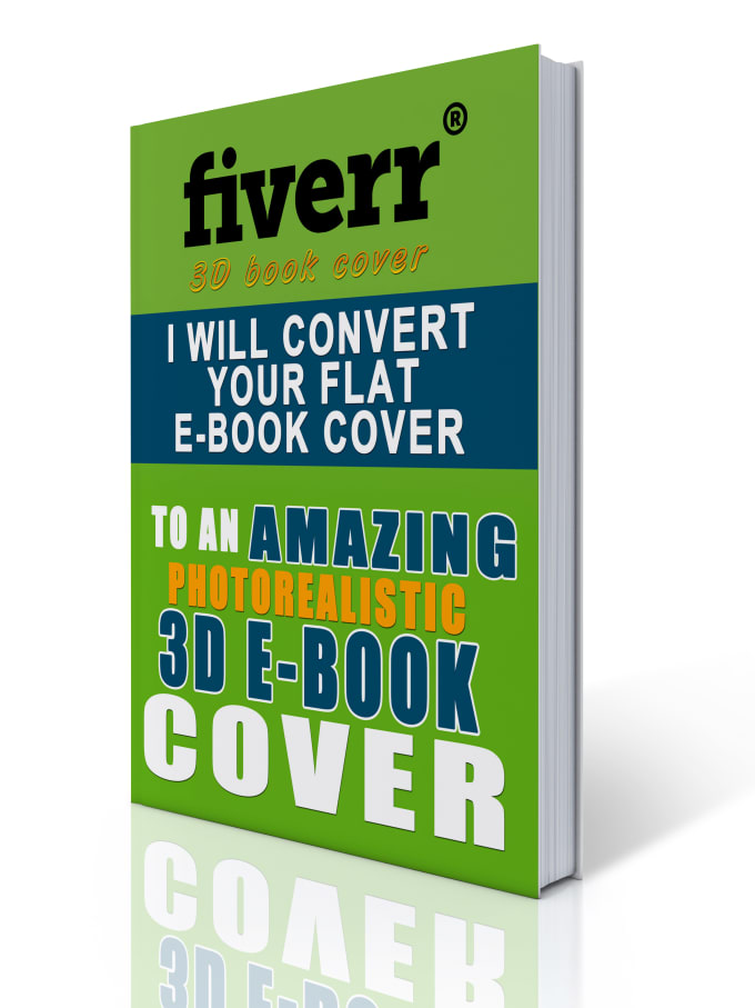 How To Make A Realistic Book Cover : Create a realistic d book cover in styles by plrbox